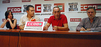 Representantes CCOO