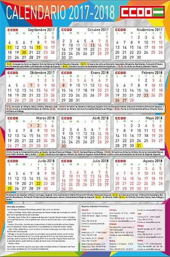 Calendario Escolar Huelva.Federacion De Ensenanza De Comisiones Obreras De Andalucia